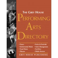 Performing Arts Directory - Current Year or Most Recent Edition.