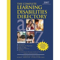 The Complete Learning Disabilities Directory - Current Year or Most Recent Edition.