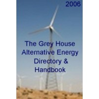 The Grey House Alternative Energy Directory & Handbook  - Current Year or Most Recent Edition.