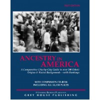 Ancestry in America: A Comparative Guide to Over 100 Ethnic Backgrounds  - Current Year or Most Recent Edition