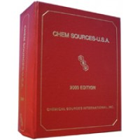 Chem Sources-USA CD-ROM - Current Year or Most Recent Edition.