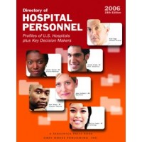 Directory of Hospital Personnel - Current Year or Most Recent Edition.
